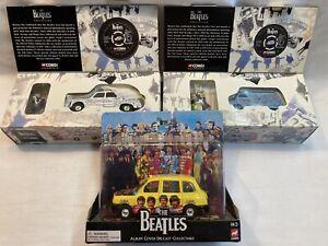 Corgi Beatles Graffiti Van and Taxi