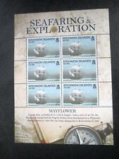 "Solomon Islands - ""SHIPS ~ MAYFLOWER ~ SEAFARING & EXPLORATION"" MS 2009 !"