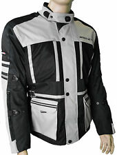 Chaqueta de moto Cordura Textil ropa Motocicleta Groesse XL