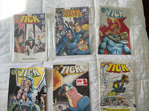 Independent Comic Lot - The Tick 4-9, The Darkness 1,3-22 The Tenth Set And More