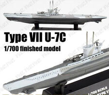 WWII German Type VII U-7C submarine U-boat 1/700 finish Easy model ship
