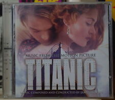 TITANIC JAMES HORNER OST SOUNDTRACK COMPACT DISC SONY 1997
