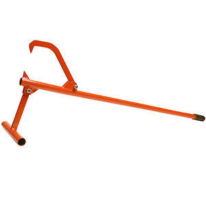 """Timberjack Log Lifter Cant Hook Steel Handle 48"""" overall length. Up to 12"""" logs"""