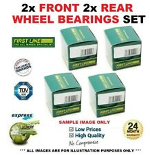 2x Front 2x Rear WHEEL BEARINGS for RENAULT MEGANE CC 1.9 dCi 2005-2009
