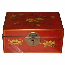 Leather Antique Chinese Boxes
