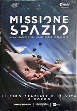 Il Cibo Spaziale E La Vita A Bordo n° 3 Missione Spazio Dvd Sigillato