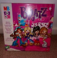 Bratz Passion For Fashion Board Game By MB Milton Bradley--COMPLETE