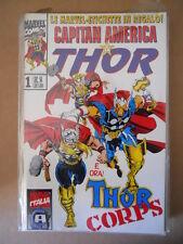 CAPITAN AMERICA & THOR n°1 1994 Marvel Italia  [G696]