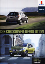 Suzuki SX4 S-Cross 12 / 2015 brochure catalogue Austria Autriche
