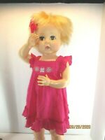 """Doll Clothes 2 Outfits fits Horsman Thirsty Walker 27"""" doll LOT #7 NO DOLL"""