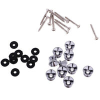 30x Strap Lock Button Pins for Electric Guitar Ukulele Bass Parts Accessory