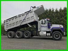 1997 Mack Tri Axle Dump Truck Aluminum Bed Air Gate Bed Vibrator Mack 350 Diesel