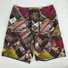 Tony Hawk Mens Graphic Cargo Pocket Board Shorts Size 32