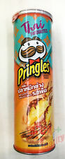 Pringles Hot And Spicy Grilled Squid THAI Flavored Potato Chips Snack 107g