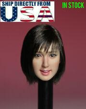 1/6 Asian Female Head Sculpt SUPERDUCK SDH007B For PHICEN TBLeague Figure U.S.A.