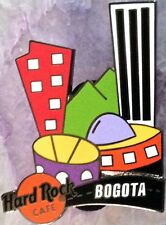 Hard Rock Cafe BOGOTA 2000 Art Deco Style City Skyline PIN - HRC Catalog #14405