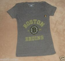 Boston Bruins Women's Large NHL T-Shirt New Official Hockey Tee