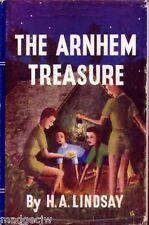 The Arnhem Treasure H A Lindsay 1st Edition Hardback in Dustjacket Uncommon