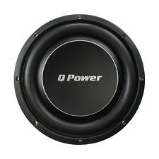 """Qpower QPF12DFLAT Deluxe 12"""" Flat Subwoofer 1200W Max"""