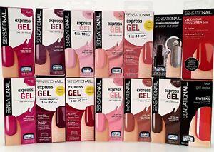 Sensationail Express Gel Manicure Powder Nagellak Gel Shellac  Entferner Spatel