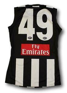 2012 Collingwood Magpies Paul Cribbin Player Issue Football Jumper Guernsey Sz M