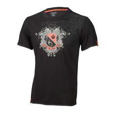 XLC Tee Shirt  Homme Je C-11 Noir impirmé Taille L neuf