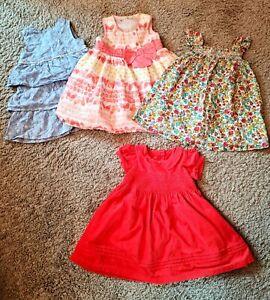 Girls Dresses 9-12 Months M&S, BHS, Nutmeg, Next