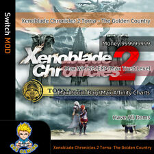 Xenoblade Chronicles 2 Torna The Golden Country(Switch Mod)-Max Money/WP/SP/EXP