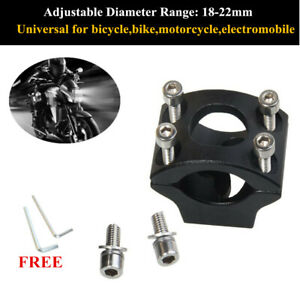 Alloy Motorcycle Fixture Spotlight Rod Signal Headlight Expansion Bracket Parts