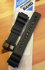 Casio ricambio NASTRO G-Shock ad esempio dw-6600, dw-6900, ecc, compl. NERO. fibbia anche