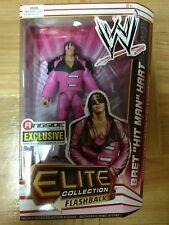 WWE Elite Flashback Bret The Hitman Hart  Ringside Exclusive Figure Sealed
