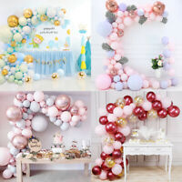Macaron Latex Balloon Confetti Arch Garland Wedding Baby Shower Party Decoration