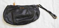 Prada Handtasche Schwarz Leder mit Rechnung und Staubbeutel