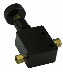 Adjustable Proportioning Valve for Universal Hot Rods 3/16 Brake 3/8-24 Fittings