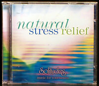 Natural Stress Relief [New Age & Easy Listening] Dan Gibson (CD, 2008 Solitudes)