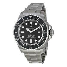 Rolex Sea Dweller DEEPSEA Black Index Dial Oyster Bracelet Stainless Steel Mens