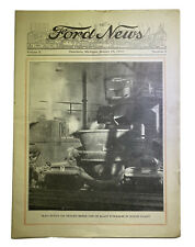 Ford News Paper Volume IX December 16, 1929 Automobilia # 24 Written On Cover