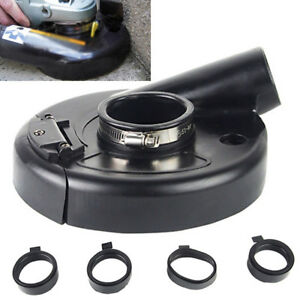 """7"""" Vacuum Dust Shroud Cover for Angle Grinder Hand Grind Convertible 7 inch USA"""