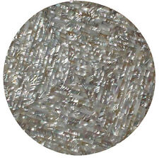 """30""""x30"""" Marble Coffee Table Top Pietradure Mosaic Floral Inlay Abalone Stone Art"""