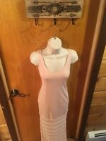 Victoria's Secret Pink Knit Maxi Dress Cute Casual Women's XS (E03)