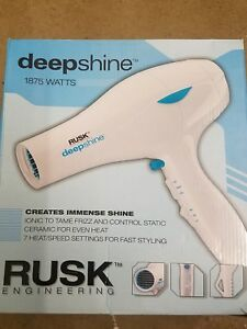 RUSK® Engineering Deepshine® Professional 1875 Watt Dryer Ceramic for Even Heat