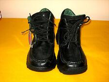 KANGAROOS BLACK LEATHER ANKLE BOOTS size UK5, unused   (1.2/10)