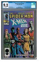 Marvel Team-Up #150 (1985) Spider-Man & X-Men Last Issue CGC 9.2 AA317