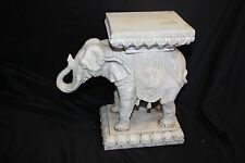 Elephant Resin BEIGE Plant Stand