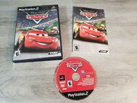 Disney Pixar Cars Sony PlayStation 2 PS2 Video Game Complete BLACK LABEL