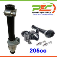 6x New *PEC* Fuel Injector+Connector Set For Nissan 280C 280ZX P430 S130