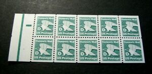US Booklet Panes Scott# 2113a Eagle  MNH  Pane of 10 L328