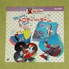 MELODY TIME [Walt Disney] - RARE 1987 JAPAN UNCUT LASERDISC (Cat No. SF078-1214)
