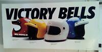 Bell Helmet Motorcycle Auto Racing Poster 1980's