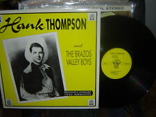 HANK THOMPSON & Brazos Valley Boys-previously unissued 1952-RFD-9003-16 songs-M-